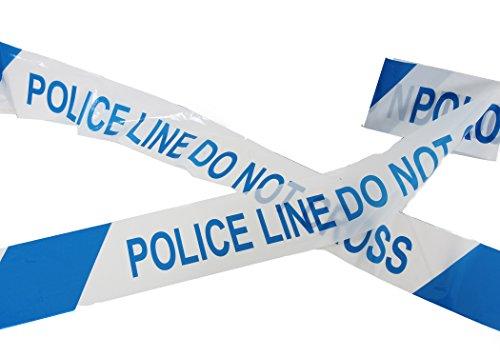 CrimeKit, Polizeiabsperrband Nicht überschreiten Klebeband (30 Meter / 100 feet). Neuheit Warn-Tape -