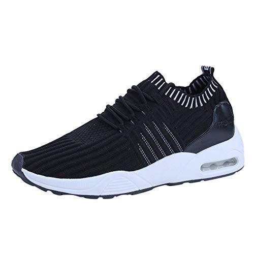 Clacce Damen Herren Sneaker Laufschuhe Air Sportschuhe Turnschuhe Running Fitness Sneaker Outdoors Straßenlaufschuhe Sports Kletterschuhe -