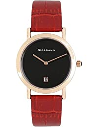 Giordano Analog Black Dial Women's Watch-2810-01