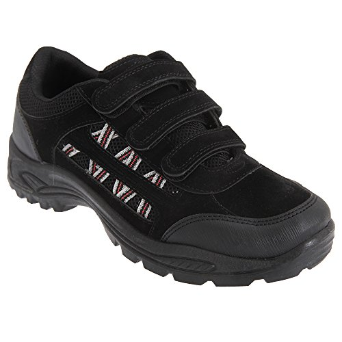 dek-mens-ascend-triple-touch-fastening-trek-hiking-trail-shoes-11-uk-black