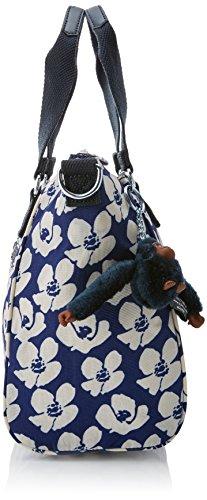 Kipling Amiel, Women's Cross-body Bag, Multicolour (Bold Flower), 15x24x45 Cm (W X H X L)