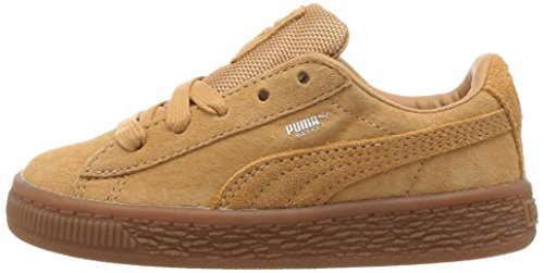 PUMA Unisex-Kids Basket Classic Weatherproof Sneaker  Taffy-Taffy  12 5 M US Little Kid