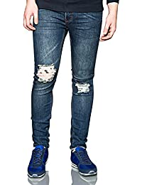 Cheap Monday – Jeans - Slim fit - Déchirures - Homme