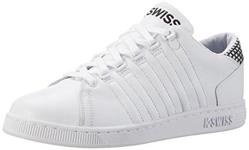 K-Swiss Lozan Iii Tt, Sneakers Basses Homme Blanc (White/black)