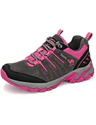 ffc9e4b1ed592 CAMEL CROWN Zapatos de Senderismo para Mujer Zapatillas de Escalada Calzado  de Ante para Alpinismo