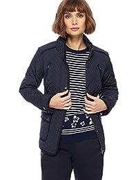 Debenhams Maine New England Womens Navy Quilted Jacket