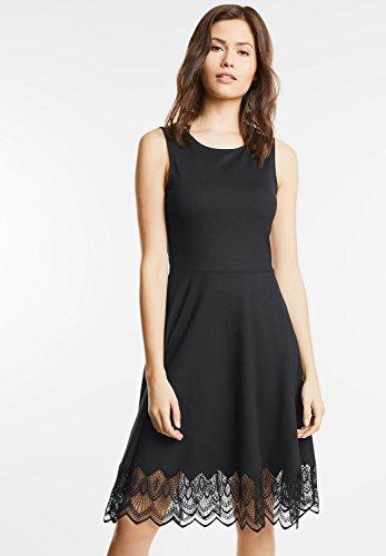 Street One Damen Elegantes Kleid Charlene Schwarz (Black)