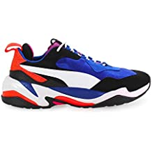 Puma Herren Schuhe Sneaker Thunder 4 Life Blau Weiss Herbst-Winter 2019 2f6ed92dde