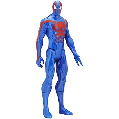 Hasbro B6345 - Marvel - Ultimate Spider-Man - Seis Siniestros - héroe Titan - 30 cm de la figura de acción - Spider-Man