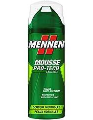 Mennen - Mousse à Raser Homme Pro-Tech Systeme Douceur Mentholée Extra Fraîcheur - 250 ml