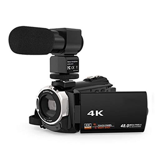 Xploit Camcorder + Mikrofon + Weitwinkelobjektiv 4K WiFi Ultra HD 1080P / 48MP / 16X Zoom Digitale Videokamera