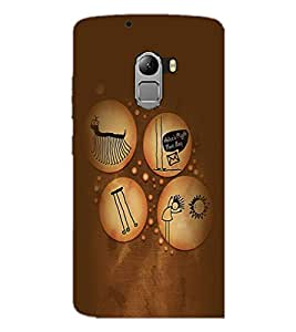 PrintDhaba Funny Image D-3961 Back Case Cover for LENOVO K4 NOTE A7010 (Multi-Coloured)