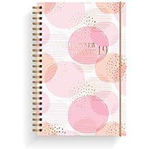 Life Planner Pink   Lebensplaner Rosa   A5   Organisieren Sie Ihre Agenda stilvoll   Wochenplaner   Organizer 2019