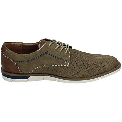 XTI  46417 Taupe, Chaussures de ville à lacets pour homme marron marron 40 Taupe