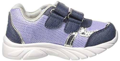Frozen Fitness Light, Sneakers basses fille Blu (Denim)