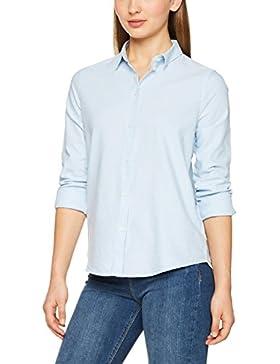 PIECES Pcirena LS Oxford Shirt Noos, Blusa Para Mujer