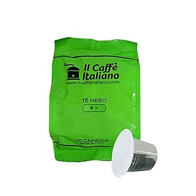 50 Capsules thé compatibles Nespresso - Nespresso 50 x Dosettes / Capsules de thé Nespresso® Thé noir - 50 capsules compatibles Nespresso - Il Caffè Italiano