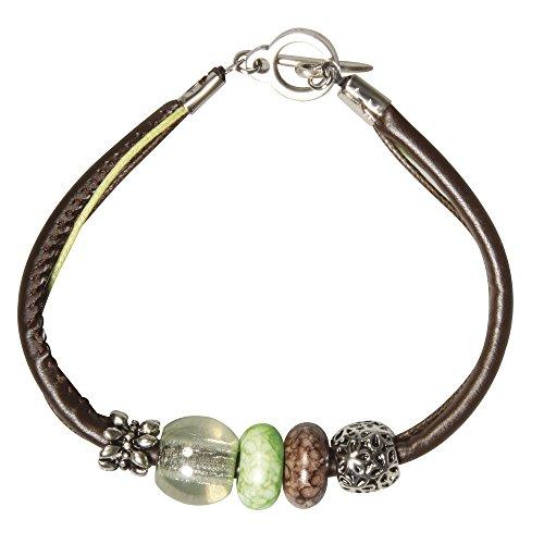 rayher-hobby-14664000-bp-braccialetto-set-celine-2-verde-chiaro
