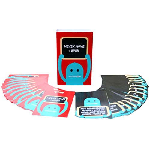 Oye Happy Never Have I Ever Cards Naughty and Fun Game,Standard(Multicolour)