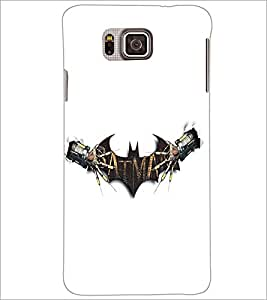 SAMSUNG GALAXY ALPHA BAT Designer Back Cover Case By PRINTSWAG