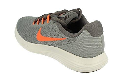 Nike LunarConverge, Scarpe Running Uomo Cool Grey/Hyper Crimson/Dark Grey