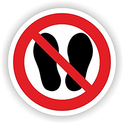 Betreten der Fläche verboten / VER-13 / Sicherheitszeichen / Piktogramme / DIN EN ISO 7010
