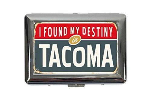 Zigarettenetui Box Reisen Küche Tacoma USA Bedruckt (Tacoma-box)
