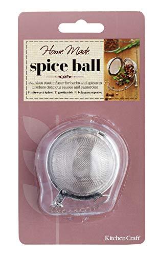 Kitchen Craft Spice Ball Gewürz-Ei, Edelstahl