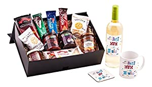 Ukgiftbox Mum Birthday Hamper Wine by Ukgiftbox