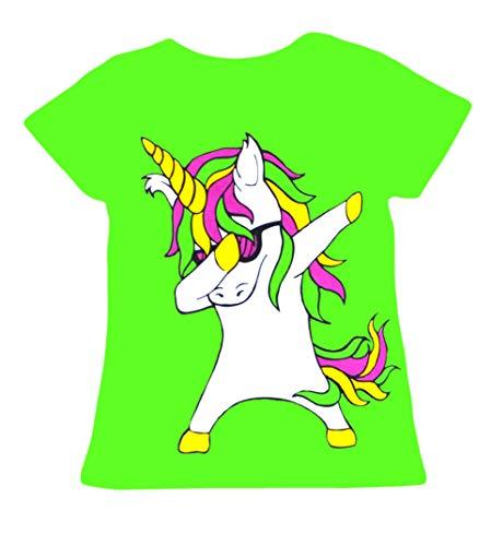 391cc311e53e9 Kids Dabbing Unicorn Long Sleeve Top T-Shirt and Leggings Set Girls Boys  Dab Dance Fashion Clothing