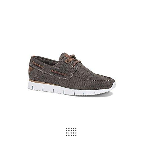 Schuhe Becket Taupe e16 Gris