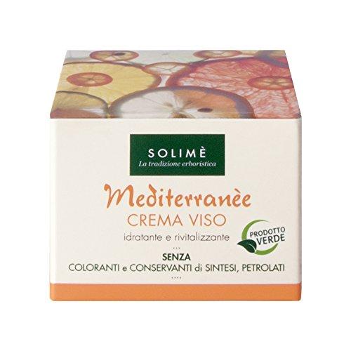 Mediterranèe Crème Visage à l'orange et Calendula 50 ml - Produit erboristico fabriqué en italie