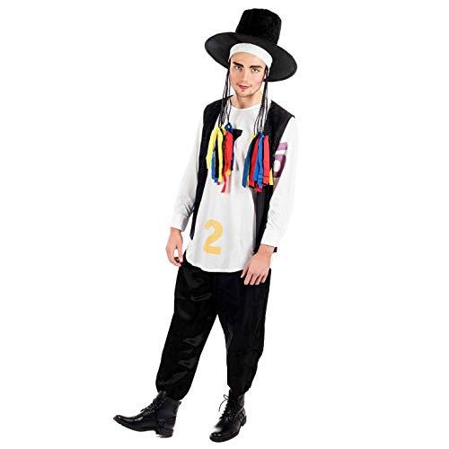 Fun Shack FN2395L Kostüm, Herren, 80er Jahre Poplegende, Groß