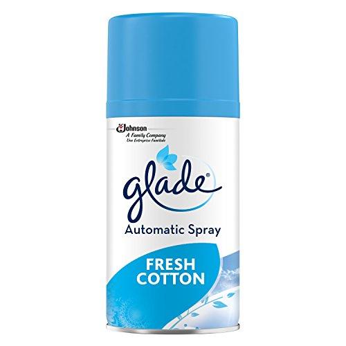 Glade by Brise Automatic Spray, elektrisches Duftspray, Nachfüller Fresh Cotton, 2er Pack (2 x 269...