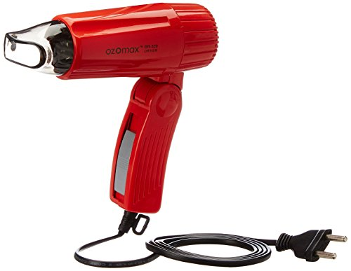 Ozomax Travel Plus 309 Hair Dryer (Red)