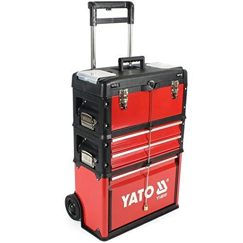 Yato yt-09101-Scatola di attrezzi carrello compone di 3parti
