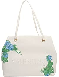 Mario Valentino BORSA DONNA SHOPPING VALENTINO BY MOD. CATAMARANO  BIANCO MULTICOLOR b21779f2c55