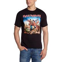Collectors Mine - Camiseta de Iron Maiden con cuello redondo de manga corta para hombre