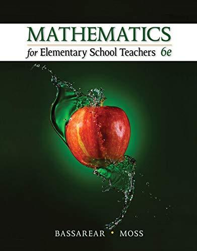 PDF Download Mathematics For Elementary School Teachers By