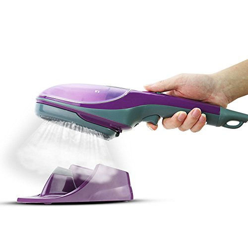 QFFL Vapeur Vapeur Machine portative à chaud Petite mini brosse à vapeur Voyage brosse à vapeur portable violet 345 * 75 * 110mm Défroisseur