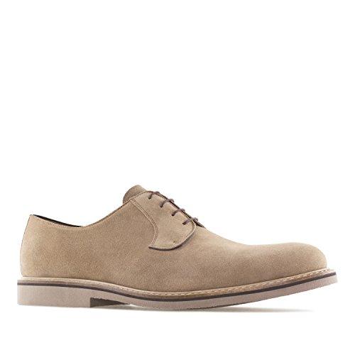 Andres Machado.6103.Chaussures Style Oxford Cuir Suède.Petites et Grandes Pointures pour Homme 37/40 et 47/50.Made in Spain.