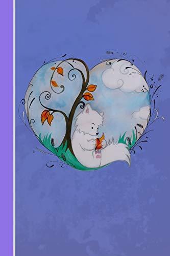 ann ich sein wer ich will: Fuchs mit Herz | Softcover | 120 Seiten | blanko | Notizbuch | Skizzenbuch | Tagträumer | Notebook | Tagebuch | Diary | Scrapbook | Geschenkidee ()