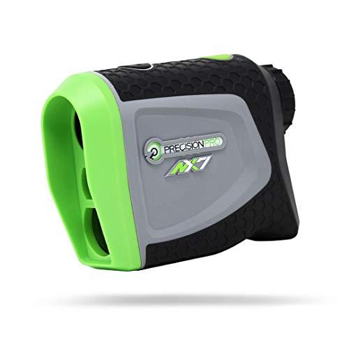 Precision Pro Golf NX7 Laser Rangefinder - Medidor de Distancia para Golf Preciso hasta 400 yardas - Perfecto como Accesorio o como Regalo para un Golfista