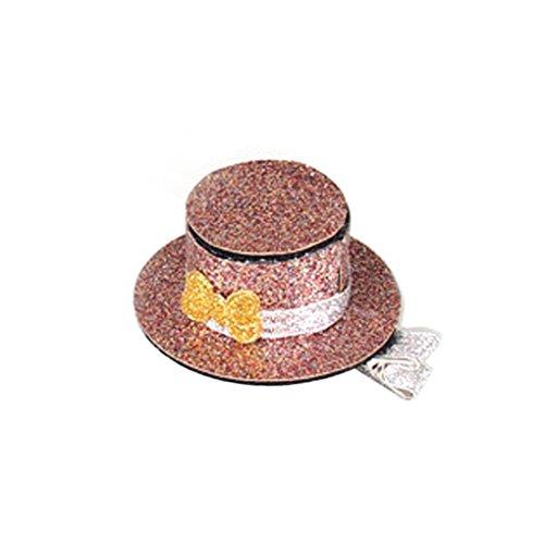 Befaith Kleine Hut-Haar-Klipp-Haar-Klipps Prinzessin-Haarnadel-Pflegen für Haustier-Hundekatzen-Kinder Rosa (Prinzessin Hut Rosa Kind Von)