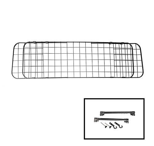 ASC - Reposacabezas Protector para Coche – Barrera/Separador – Soporte de reposacabezas – Ancho Ajustable.