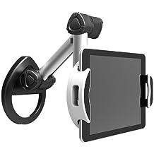 """IBRA - Soporte para pared, escritorio y parte inferior de armario para iPad 1/2/3/4 / Aire, Samsung Galaxy y la mayoría de las tabletas de 7 """"~ 10.4"""""""