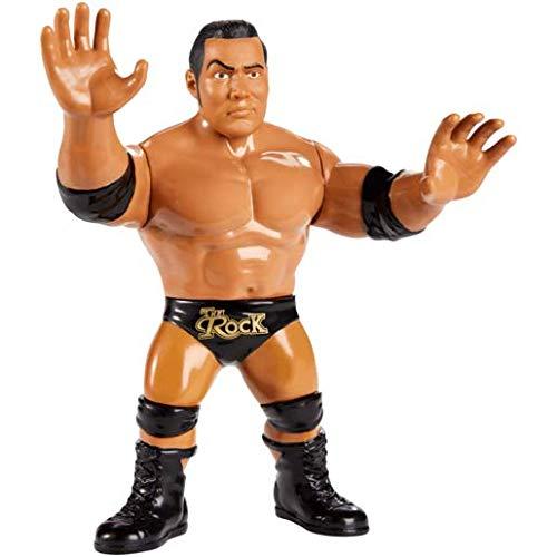 WWE - FJG55 - The Rock - Actionfigur im Retro Look
