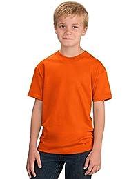 amazon co uk orange tops t shirts boys clothing