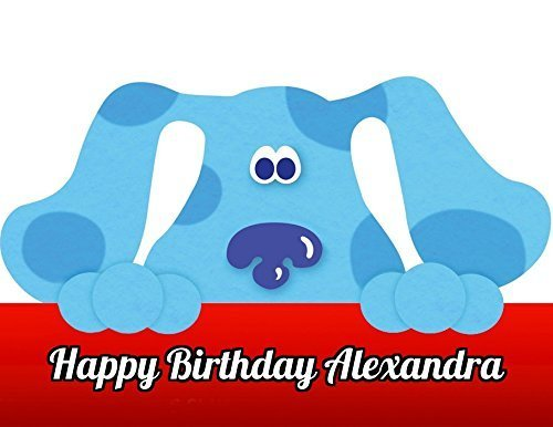 blues-clues-edible-image-photo-cake-topper-sheet-personalized-custom-customized-birthday-party-1-4-s