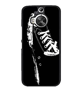 Canvass Shoe 2D Hard Polycarbonate Designer Back Case Cover for HTC One M9 Plus :: HTC One M9+ :: HTC One M9+ Supreme Camera